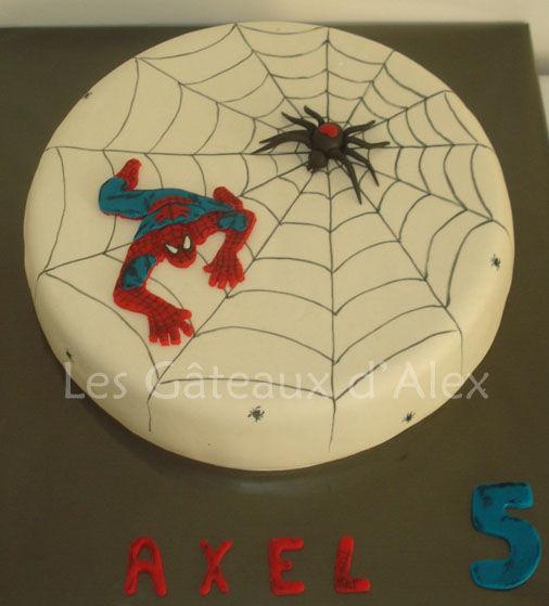 G teau spiderman les gateaux d 39 alex - Deco anniversaire spiderman ...