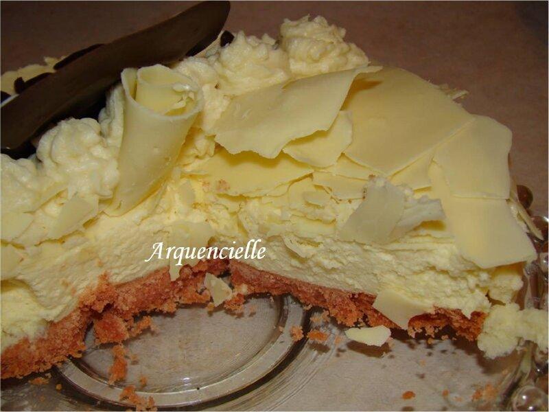 Gateau chocolat blanc de paques