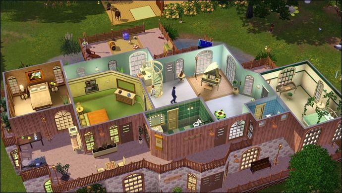 Ide Maison Sims  Stunning Plan De Maison De Luxe Moderne Photos