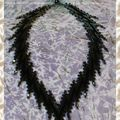 Collier mimic fine de bargello