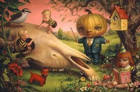 Mark Ryden The Pumpkin President