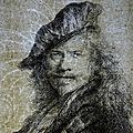Rembrandt etchings brought together in exhibition at allen memorial art museum