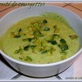 VELOUTE LEGER A LA COURGETTE