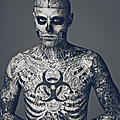Rick genest - how do you judge a book ?