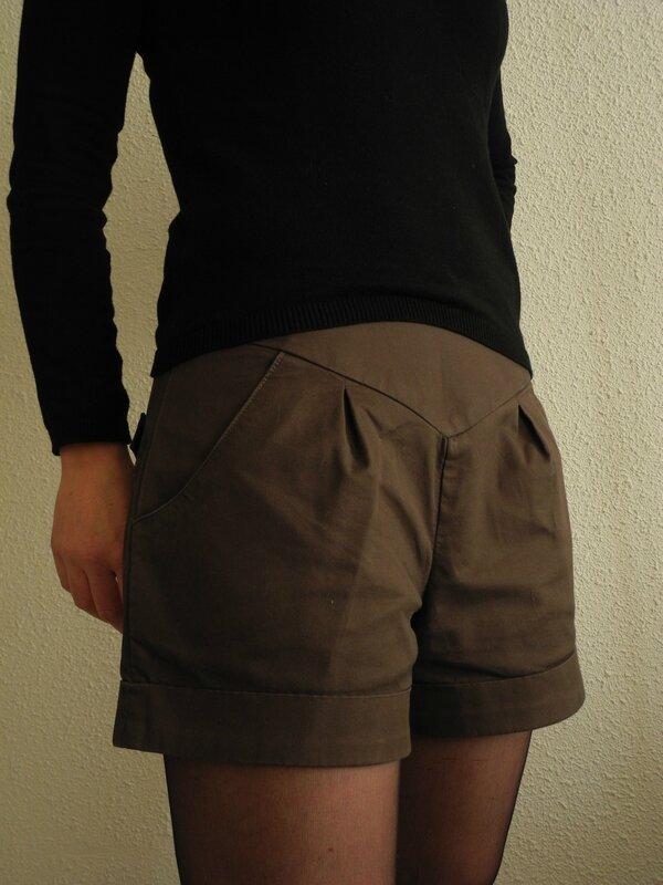 Patron Short Châtaigne - Tissu Mondial Tissus