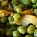 Petits pois et fèves à la marocaine