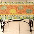 1- MOSAÏQUES DECORATIVES plateaux de TABLES