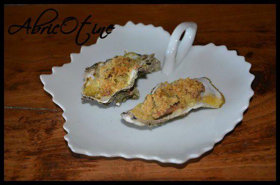 huitres gratinees au foie gras huile d olive ail persil parmesan2