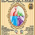 Saint sever - 32eme semaine taurine et culturelle
