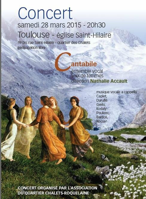 Affiche Cantabile MArs 2015