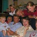 avec la famille