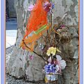 Floralies Sénas l-arbre de la Récup Eva 8 Mai 2013 - Valorisation déchets