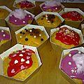 Pseudo cup cakes du jour