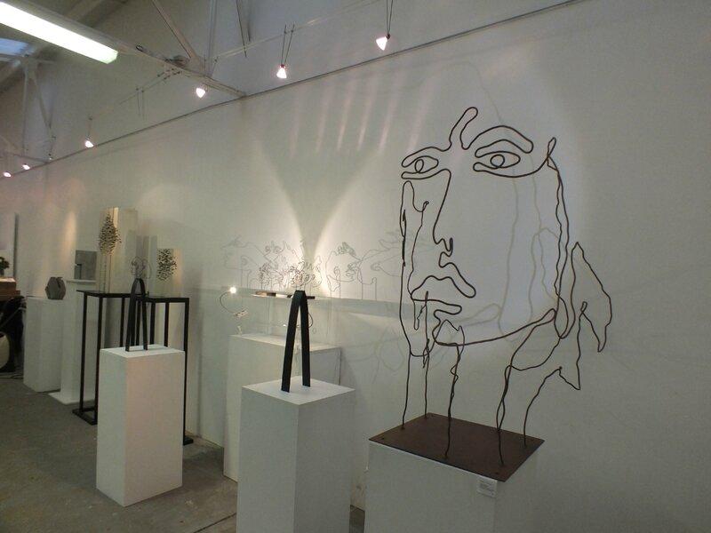 Galerie le Hangar - Parcours de sculptures 2016 evreux