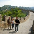on the great wall Lucie, and StephaneS