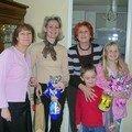 Clo,Sandrine et moi les 3 soeurs