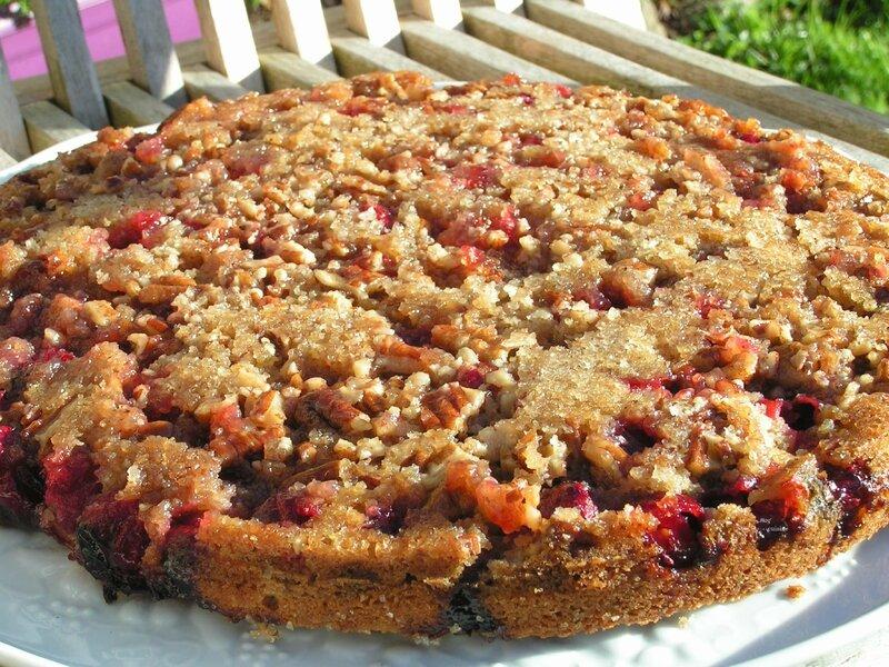 gâteau aux canneberges et noix de Pécan (11)