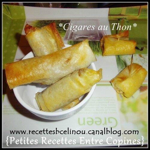 Cigares au Thon.