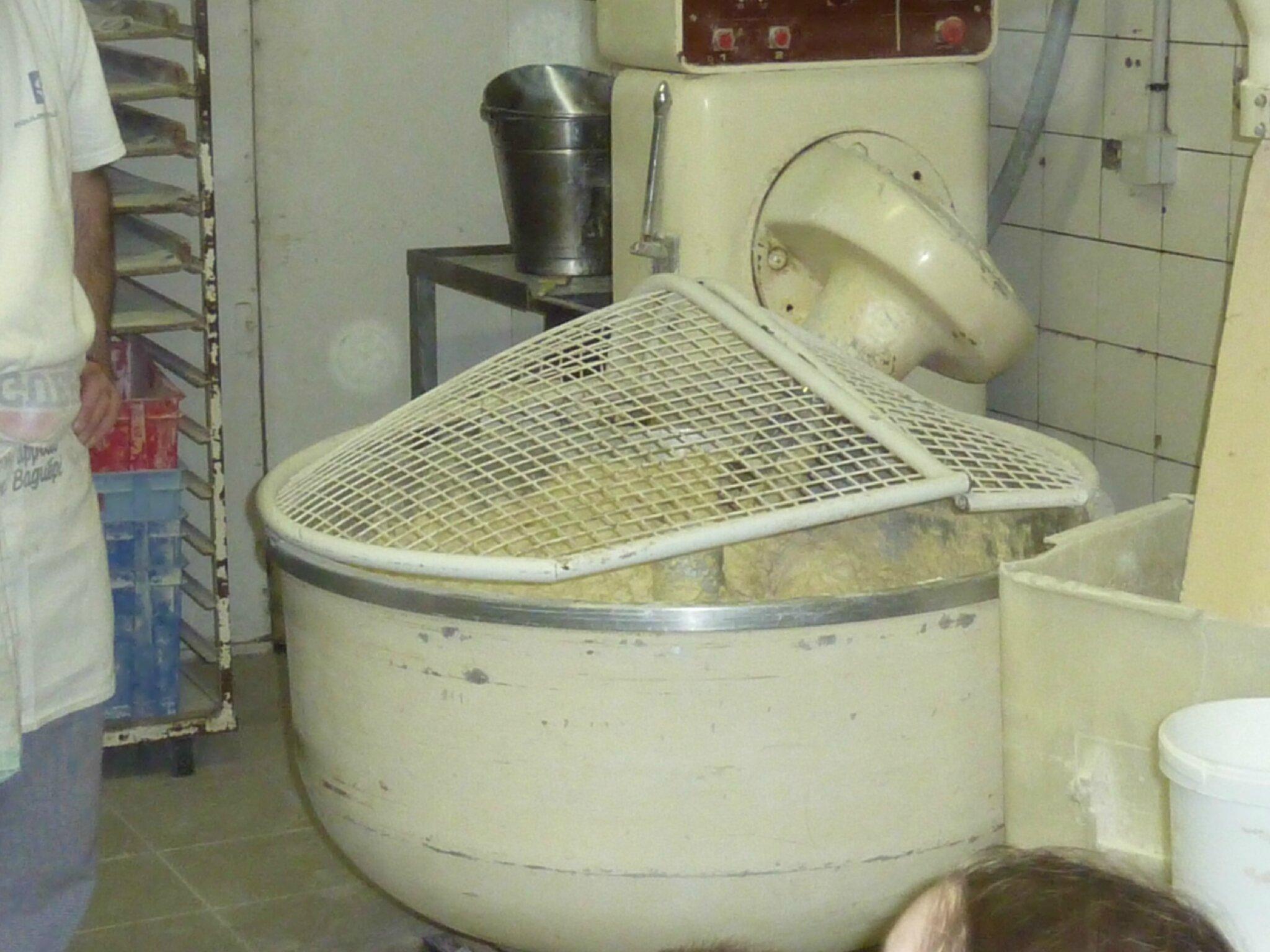 Visite de la boulangerie les grands de lamairesse - Machine a pain boulanger ...