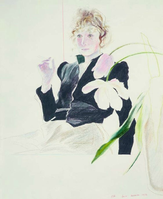 exposition-david-hockney-beaubourg-paris-2017-dessin