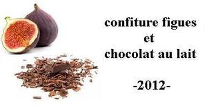 etiquette figues chocolat 2012