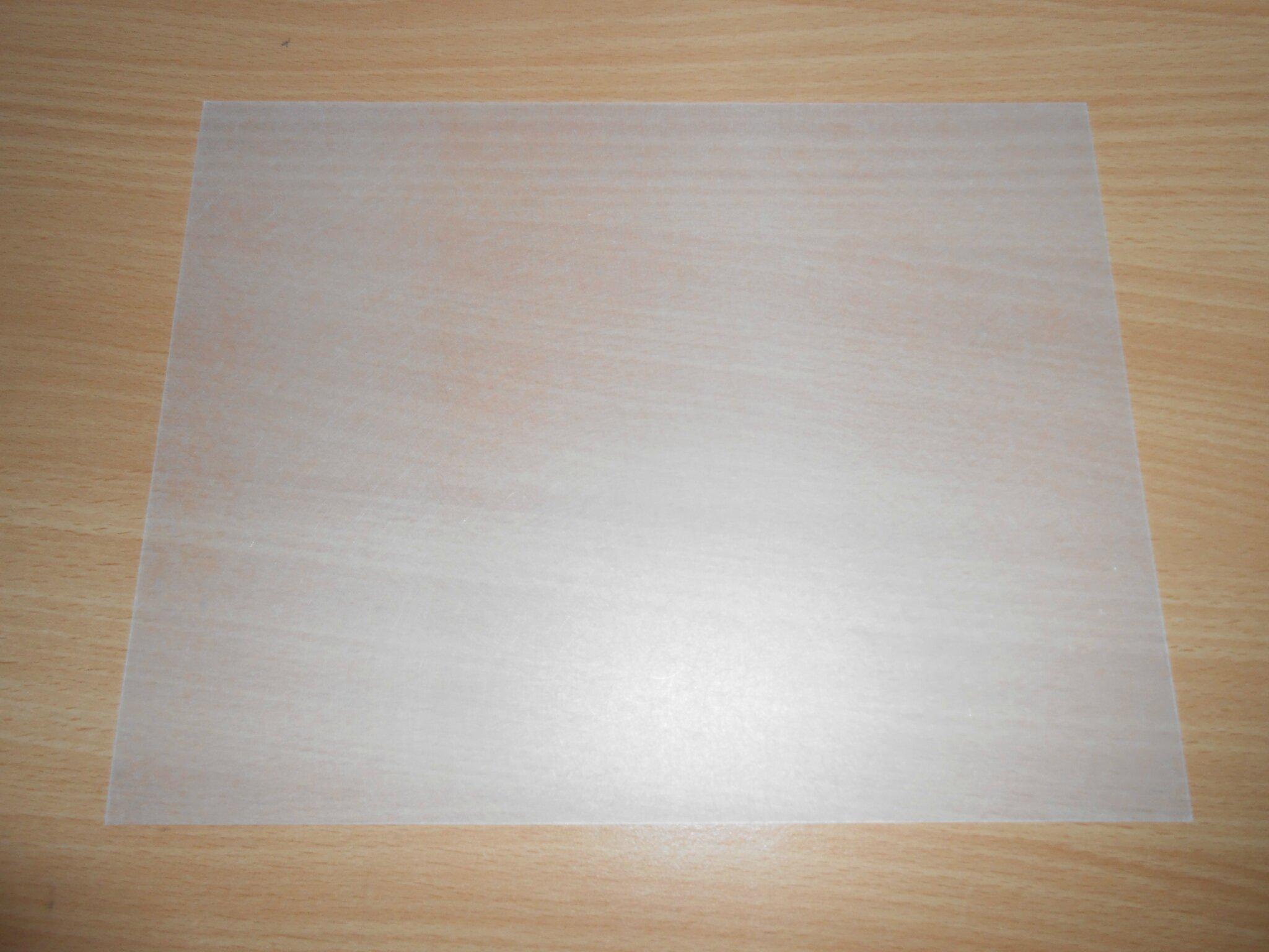 Plaque plastique opaque