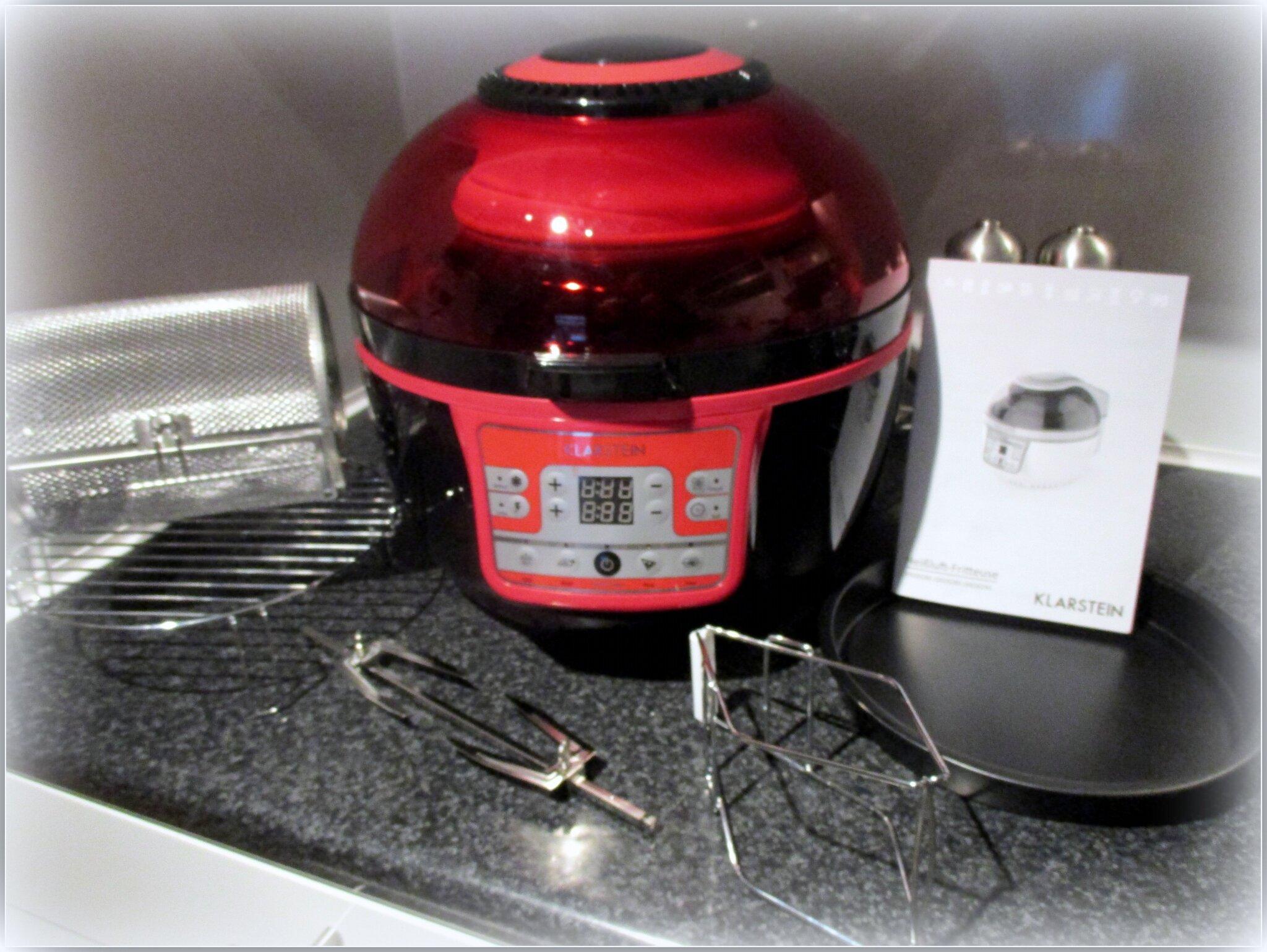 Friteuse air chaud de mon partenaire klarstein blogs de cuisine - Friteuse a air chaud ...