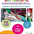 La nouvelle session d'art therapie demarre