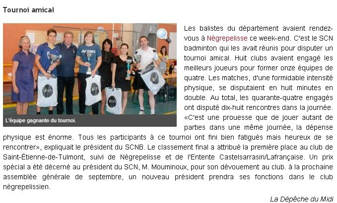Article Depeche 21-05-2014