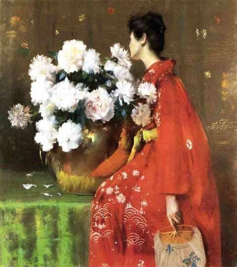 Pivoines de William Merritt Chase 1897