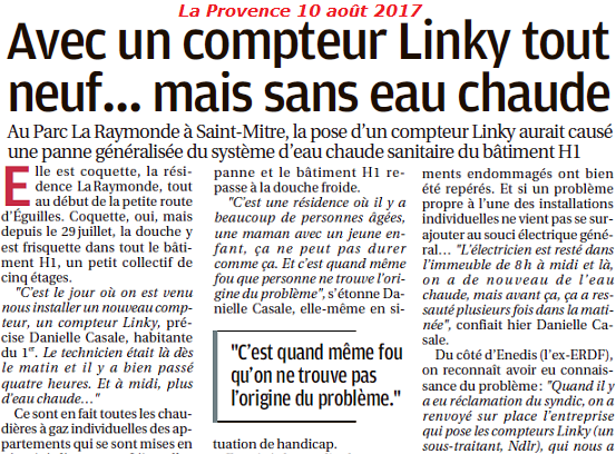 LINKY La Provence 10 août 2017 80% part A