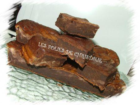 Brownie marbré 13