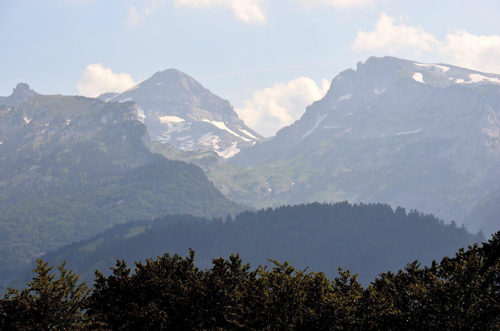 Le Pic d'Anie, les Tourelles et le Soum Couy
