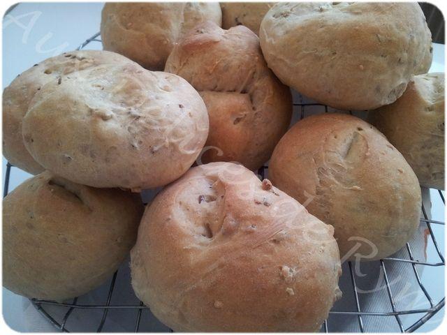 Petits pains aux céréales0012