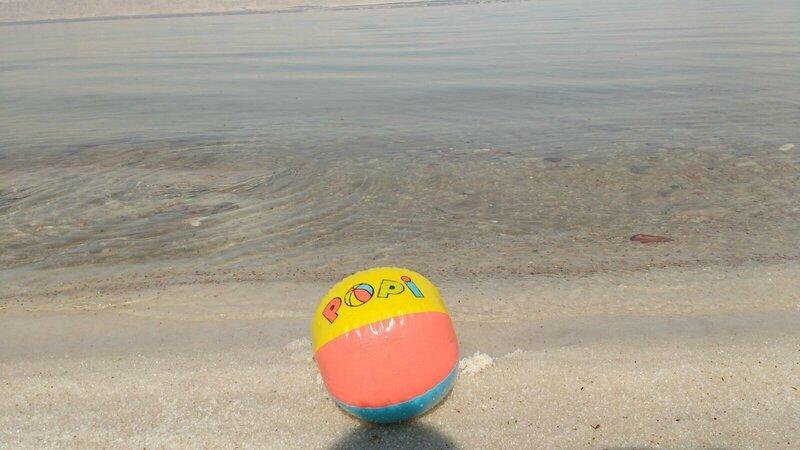 Popi à la Mer Morte