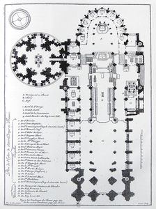 basilique_Saint_Denis_plan_1706