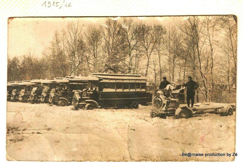 Compagnie Générale des Omnibus de Paris (1915-1916)