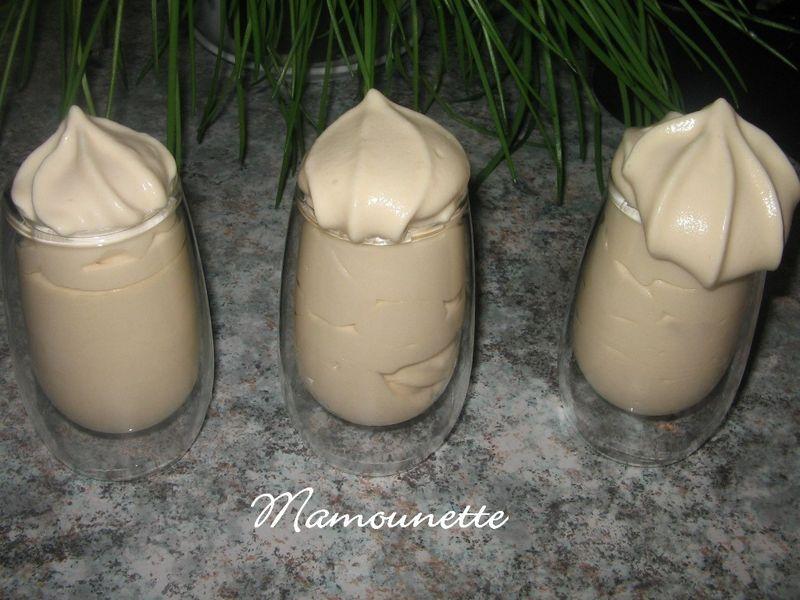 Chantilly siphonn e au caramel au beurre sal et joyeux no l bon ap chez mamounette - Chantilly maison sans syphon ...