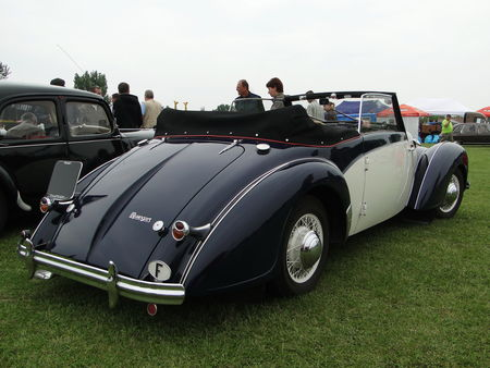 ROSENGART LR539 Supertraction Cabriolet 1939 Retro meus Auto Lac de Madine 2010 6