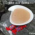 Creme aux daims thermomix