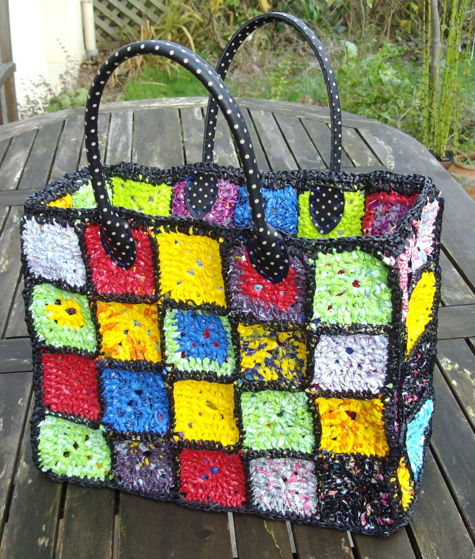 Favori SAC CROCHET PLASTIQUE - Photo de CROCHET - Le Fil Bohème ZB21