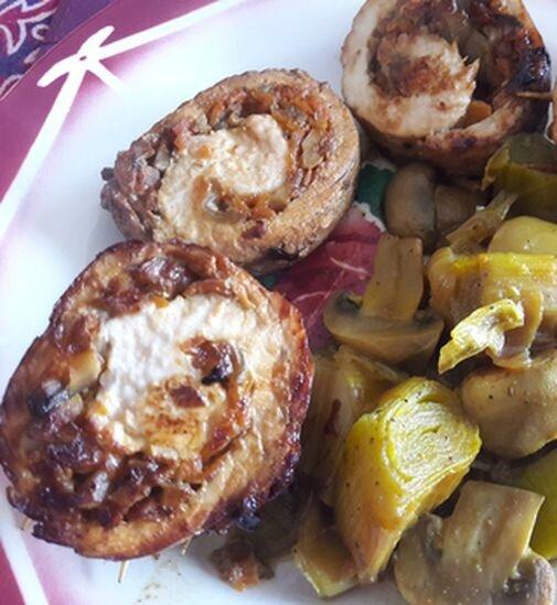 roulés de dinde aux petits légumes (2)