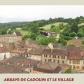 L'abbaye de cadouin et son cloitre (24 dordogne)