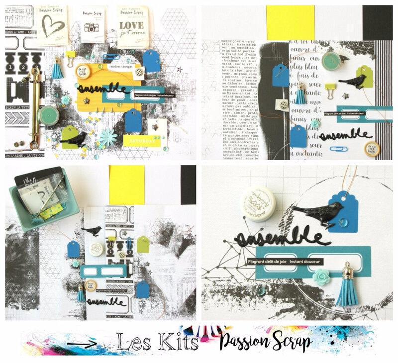 Kit de juin 2017 de Passion Scrap