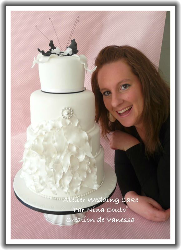 VANESSA ATELIER WEDDING CAKE
