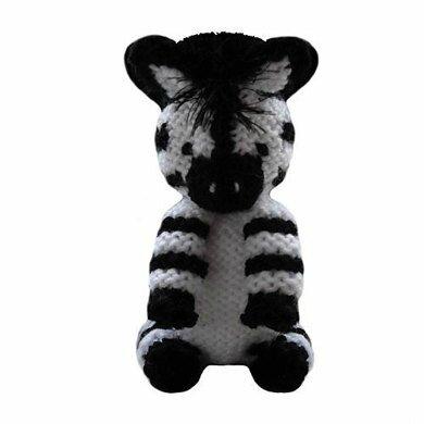 Traduction Safari Zebra - Sarah Gasson - Knitables