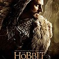 The Hobbit Desolation of Smaug Thorin poster