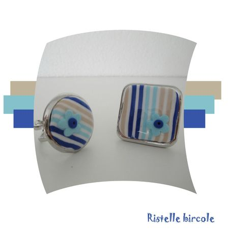 bague bleu sahara aqua