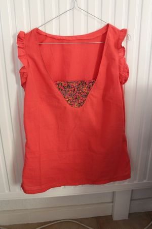 Dressing chic - top K corail (9)