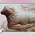 Pâques : lamala, lapin...